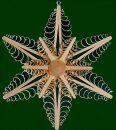 Stern mit 6 Bäumchen