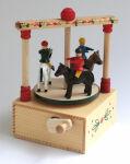 Seiffener Klimperkasten Pferdekarussell